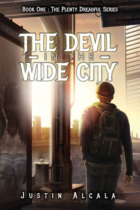 The Devil in the Wide City Zharmae Cover
